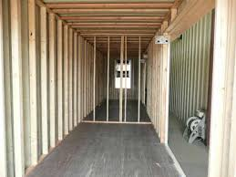 Interior Dimensions Of A Shipping Container Insulation Interior Finishing Container Technology Inc