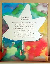 a template for writing a thankful poem with your we do