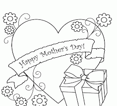 coloring pages mothers day flowers happy mothers day coloring pages many interesting cliparts