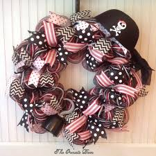 pirate wreath halloween wreath pirate decor pirate birthday