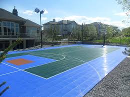 Sports Courts For Backyards Sport Court Game Courts Home Court Sports Courts Backyard Game