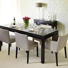 Oriental Dining Table by Formal Dining With Teak Table And Woven Chairs Your Guests Will