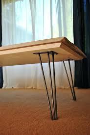 hairpin leg coffee table round our cheap coffee table project home in disarray hairpin leg coffee