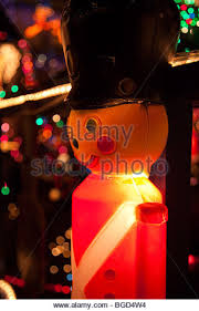 Christmas Decorations For Outside Uk by Over Top Illuminated Christmas Decorations Stock Photos U0026 Over Top