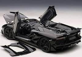 lamborghini aventador j autoart lamborghini aventador j black in 1 18 scale new release in