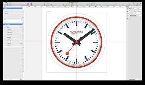 making the swiss railway clock in sketch u2013 prototypr