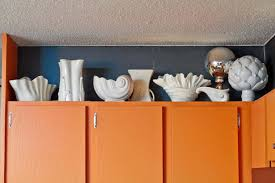 christmas decorating above kitchen cabinets wood table closet