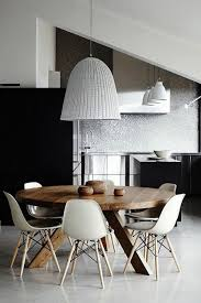 Kitchen Round Tables 70 round dining tables that can totally transform any kitchen