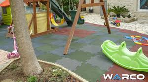 playground surface and safety floor by warco safety mats online