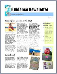 newsletter templates classroom newsletter template for