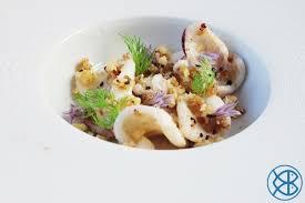 cuisiner le calamar recette italienne calamar en crumble noisettes amandes