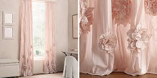 Petal Pink Curtains Drapery Collections Rh Baby Child