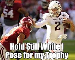 Johnny Football Meme - johnny football stiff arms his way out of scandal blackathlete