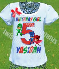 pj masks birthday shirt pj mask birthdays birthday