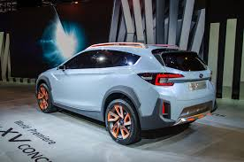 subaru crosstrek white 2016 subaru xv concept is a thinly disguised look at the future