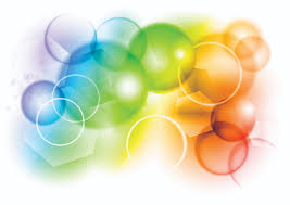 colorful bubbles background vector free vector 4vector