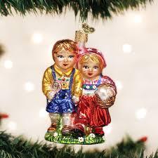 hansel and gretel old world christmas ornament