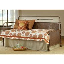 kensington metal daybed in old rust dcg stores