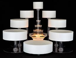 tiered cake stands 8 tier cascade wedding cake stand style r800