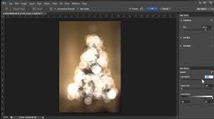 christmas lights and photoshop cs6 to create world class bokeh
