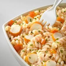 cuisine pates recette salade de pâtes au surimi rapide facile