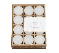 pb votive candle set of 12 pottery barn