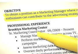 resume objectives writing tips writing resume objective resume objective statements exles