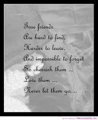 Quotes About Loving And Letting Go by True Friend Quotes True Friends Never Let Go Quote Friendship