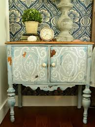 give plain nightstands rustic charm with milk paint hgtv
