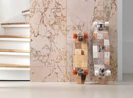 faux tile marble wallpaper decor8