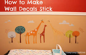 pinspiration how to make wall decals stick so these particular stickers are skip hop brand but this trick can apply to any of the vinyl stickers out there
