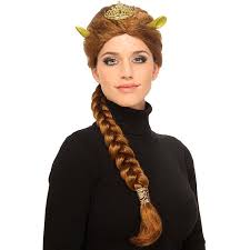 green halloween wig amazon com deluxe princess fiona costume wig clothing