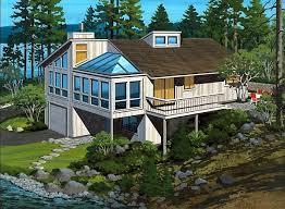 hillside cabin plans 49 best hillside home plans images on hillside house