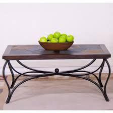 Sunny Designs Vineyard Extension Table by Sunny Designs 3125dc C Santa Fe Slate Metal Coffee Table In Dark
