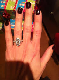 marquise halo engagement ring lets see your marquise rings weddingbee