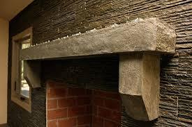 fireplace surrounds concrete interiors custom concrete