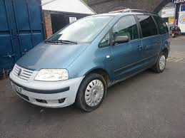 2003 volkswagen sharan carat 1 9 tdi 7 seater 12 months mot