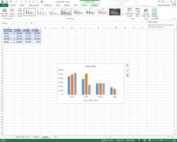 how to select sheets how to move embedded charts to chart sheets in excel 2013 dummies