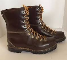 s boots size 9 wide vintage s ortho vent 1950 s leather work boots size 9 ee wide