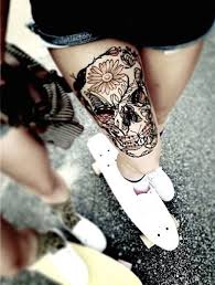 44 bold skull tattoos to celebrate your mortality