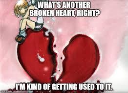 Broken Heart Meme - broken heart memes imgflip