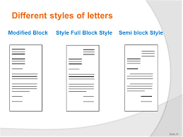 cover letter style how to create modified semi block letter style word 2007