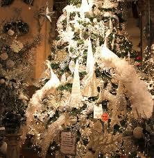 white peacock ornament tree topper decoration shabby