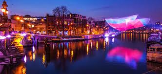 amsterdam light festival boat tour light festival cruise