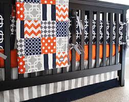 Purple Grey Crib Bedding by Custom Crib Bedding By Giggle Six Baby By Gigglesixbaby On Etsy