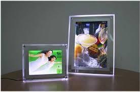 the new trade show thin acrylic led light box a3 on aliexpress