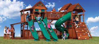 Wood Backyard Playsets by Backyard Adventures Of Iowa Des Moines Ia