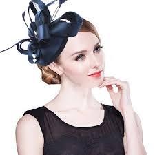 hair fascinator aliexpress buy fashion feather satin fascinator hat hair
