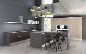 cuisine de meuble de cuisine laqué lovely meuble de cuisine gris anthracite
