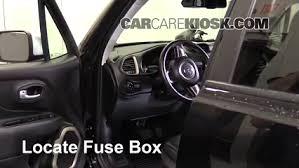 Interior Jeep Renegade Interior Fuse Box Location 2015 2016 Jeep Renegade 2016 Jeep